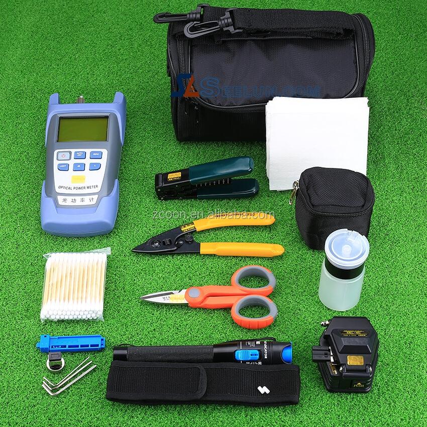 FTTH Fiber Optic Toolkit splicing tool kits fiber tools equipment