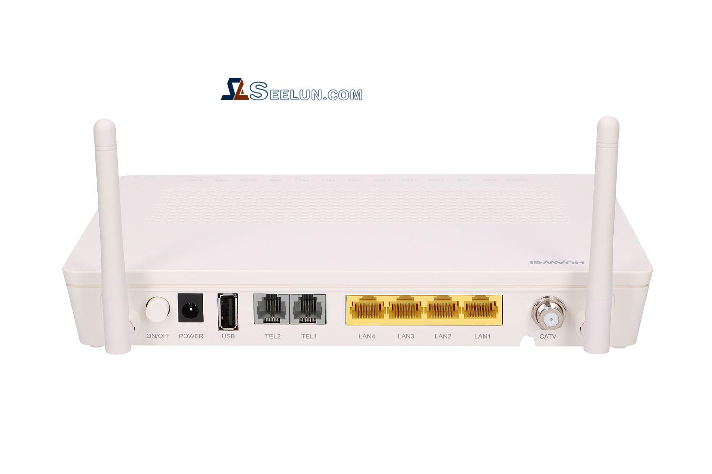 ONT Huawei Echolife GPON client terminal HG8247H, 1 x GPON, 4 x GE, 1 x CATV, 2 x POTS, 1 x USB, WiFi
