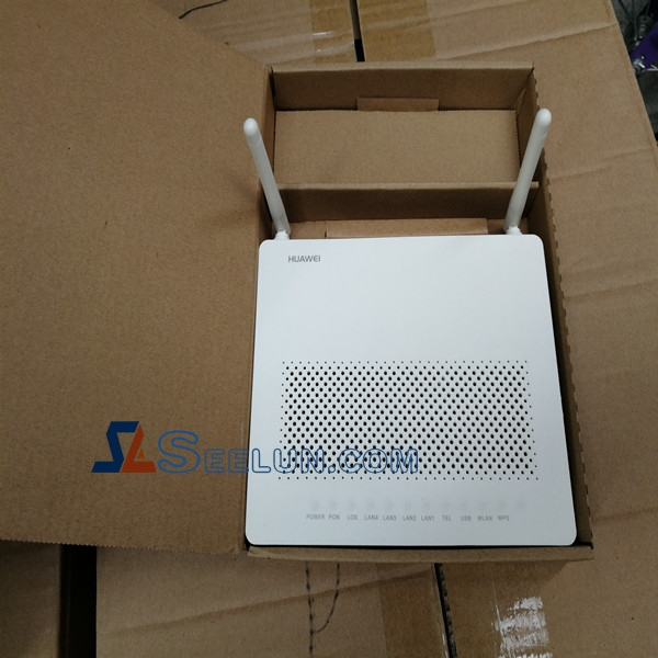 Huawei HG8546M5 1GE+3FE+1POTS+USB+WIFI 2.4G External antenna GPON ONT ONU Router Modem