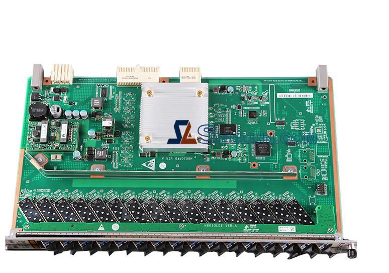 Huawei MA5608T MA5683T MA5680T 16-port GPON OLT interface board with C+ SFP module