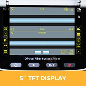 AI-7 Optical Fiber Splicing Machine Digital Fusion Splicers Ai7 the Best Price