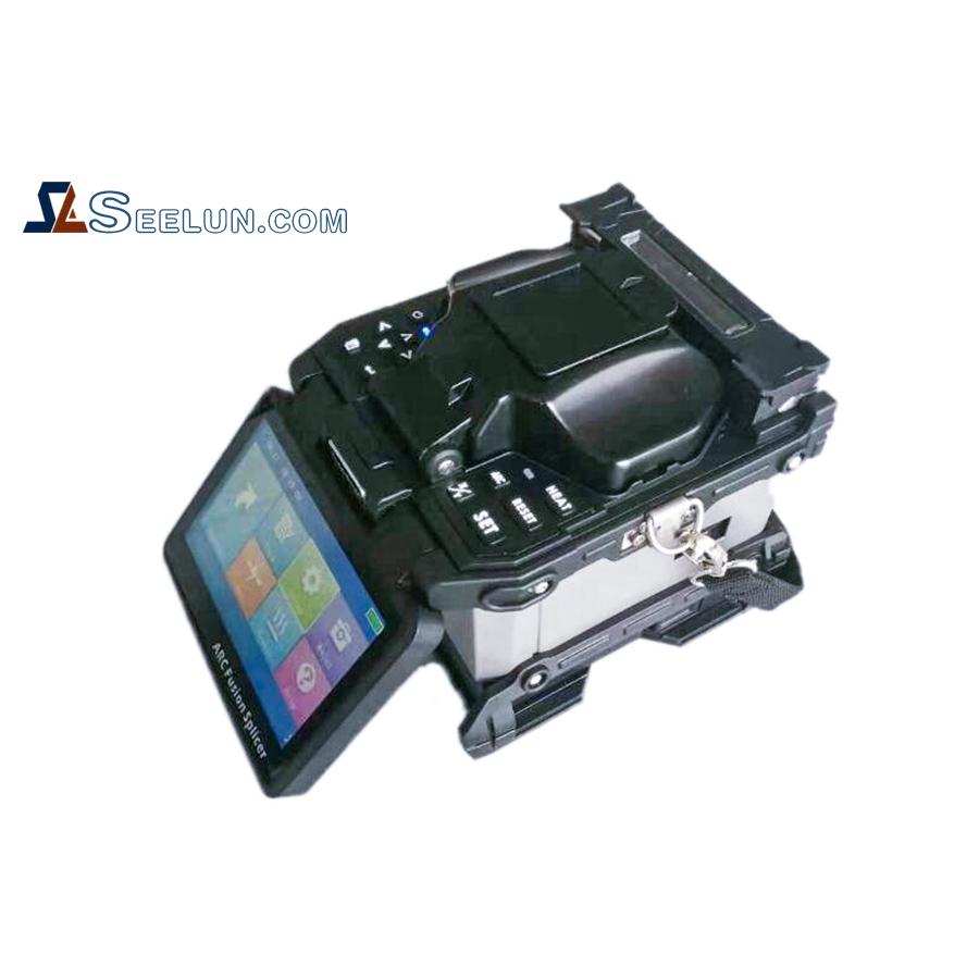ST3100A Fusion splicer 6 motorS core to core splicing machine